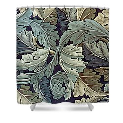 Acanthus Leaf Design Shower Curtain by William Morris