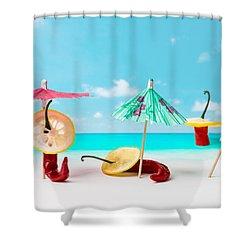 Acapulco Shower Curtain by Alexander Senin