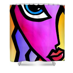 Accent Shower Curtain by Tom Fedro - Fidostudio