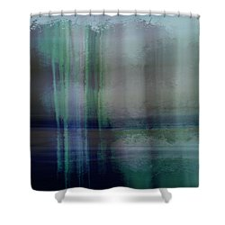 Acid Wash Shower Curtain by Terence Morrissey
