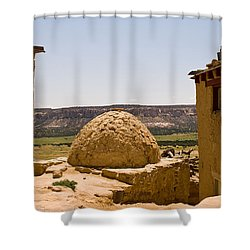 Acoma Oven Shower Curtain by James Gay