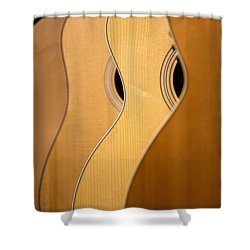Shower Curtain featuring the photograph Acoustic Design by John Rivera