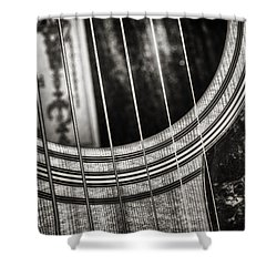 Acoustically Speaking Shower Curtain