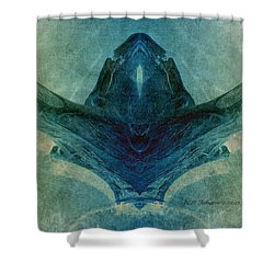Acrobat 2 Shower Curtain by WB Johnston
