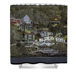 Across The Narrows  Shower Curtain