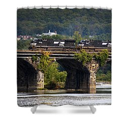 Across The Rockville Shower Curtain