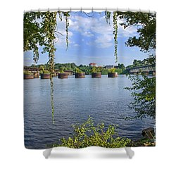 Across The Tennessee Shower Curtain by Paul Mashburn