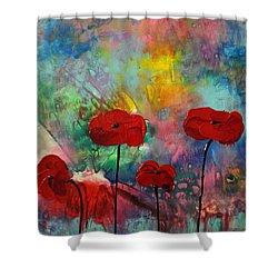 Acrylic Msc 078 Shower Curtain