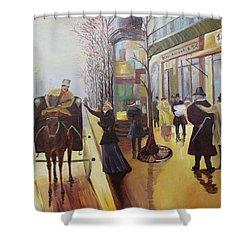 Acrylic Msc 178  Shower Curtain