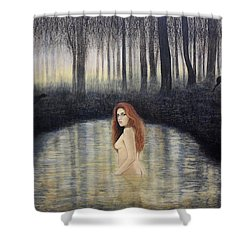 Actaeon And Artemis Shower Curtain