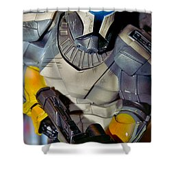 Action Toy Shower Curtain