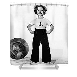 Actress Shirley Temple Shower Curtain