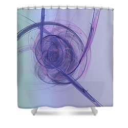 Acuor Shower Curtain by Jeff Iverson