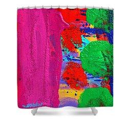 Ad Libitum Shower Curtain by John  Nolan