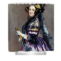 Ada Lovelace Shower Curtain