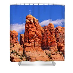 Adam In The Garden Of Eden Shower Curtain