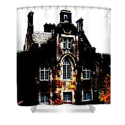 Shower Curtain featuring the photograph Adare Manor by Charlie and Norma Brock