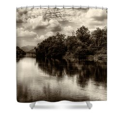 Adda River 2 Shower Curtain