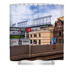 Addison Street Station Shower Curtain