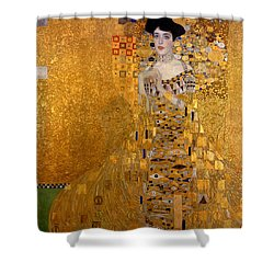 Adele Bloch Bauers Portrait Shower Curtain by Gustive Klimt