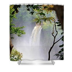 Shower Curtain featuring the photograph Adirondacks Waterfall by Patti Whitten