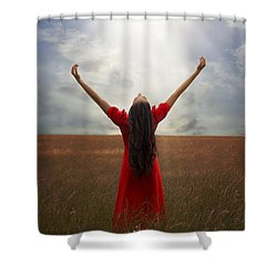 Admiration Shower Curtain by Joana Kruse