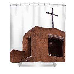 Adobe Steeple Shower Curtain