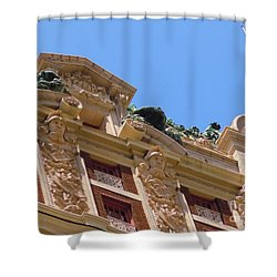 Shower Curtain featuring the photograph Adolphus Hotel - Dallas #2 by Robert ONeil