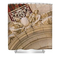 Shower Curtain featuring the photograph Adolphus Hotel - Dallas #3 by Robert ONeil