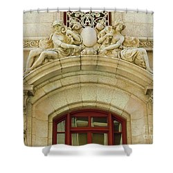 Shower Curtain featuring the photograph Adolphus Hotel - Dallas #4 by Robert ONeil