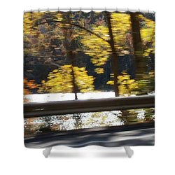 Shower Curtain featuring the photograph Advance by Thomasina Durkay
