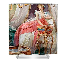 Advertisement For Pears Soap Shower Curtain by English School