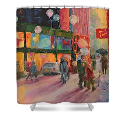 Advocate Of Dreams Shower Curtain by Marie Green