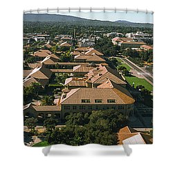 Aerial View Of Stanford University Shower Curtain