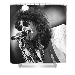 Aerosmith Shower Curtain by Concert Photos