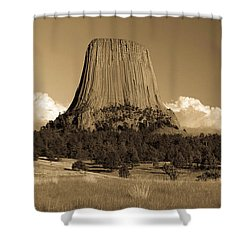 Afernoon Storm On The Way Shower Curtain