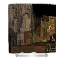 Afghanistan By Jammer Shower Curtain by First Star Art