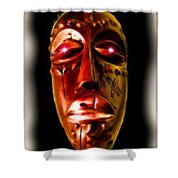 Shower Curtain featuring the digital art Africa by Daniel Janda