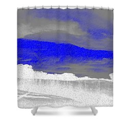 African Landscape Shower Curtain by George Pedro