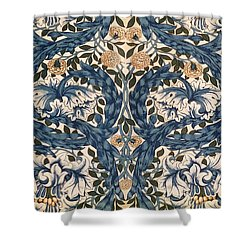 African Marigold Design Shower Curtain by William Morris