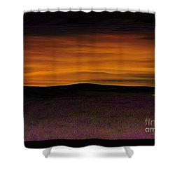African Sky Shower Curtain