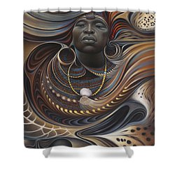 African Spirits I Shower Curtain