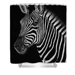 African Stallion Shower Curtain