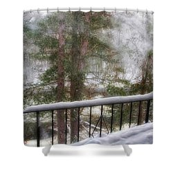 After Nemo 2 Shower Curtain by Joann Vitali
