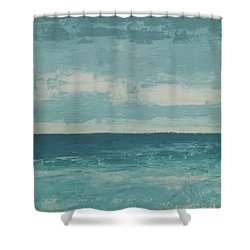 After The Rain Shower Curtain by Gail Kent