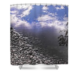 After The Rain Shower Curtain by Kristie  Bonnewell