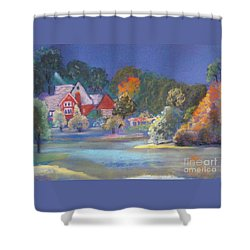 After The Rain  Shower Curtain by Sandra McClure