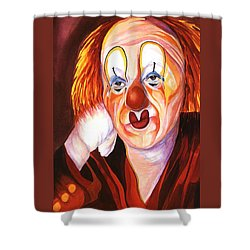 After The Show Shower Curtain by Carolyn LeGrand