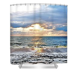 After The Storm 3 Shower Curtain by Kim Bemis