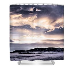 After The Storm Shower Curtain